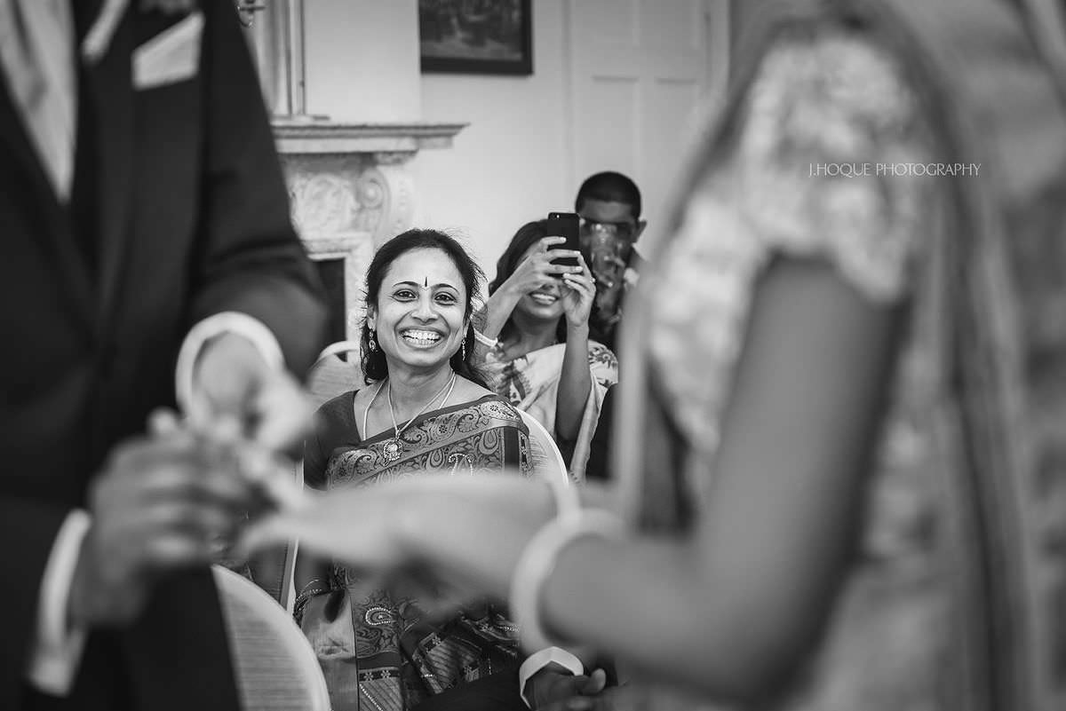 Proud mum | Pembroke Lodge Tamil Wedding Photographer Surrey | 16