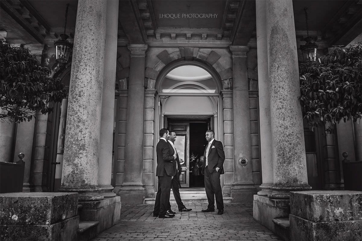 Documentary Wedding Photographer at Cliveden House | Berkshire Asian Wedding Photographer | BW-02