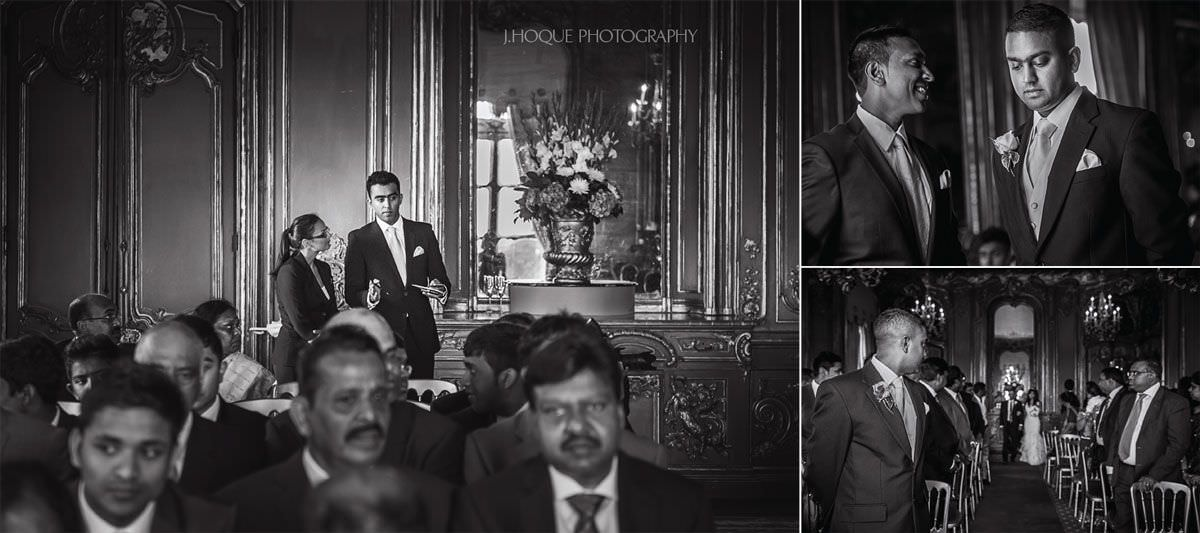 Cliveden House Berkshire Documentary Wedding Photographer | BW-06
