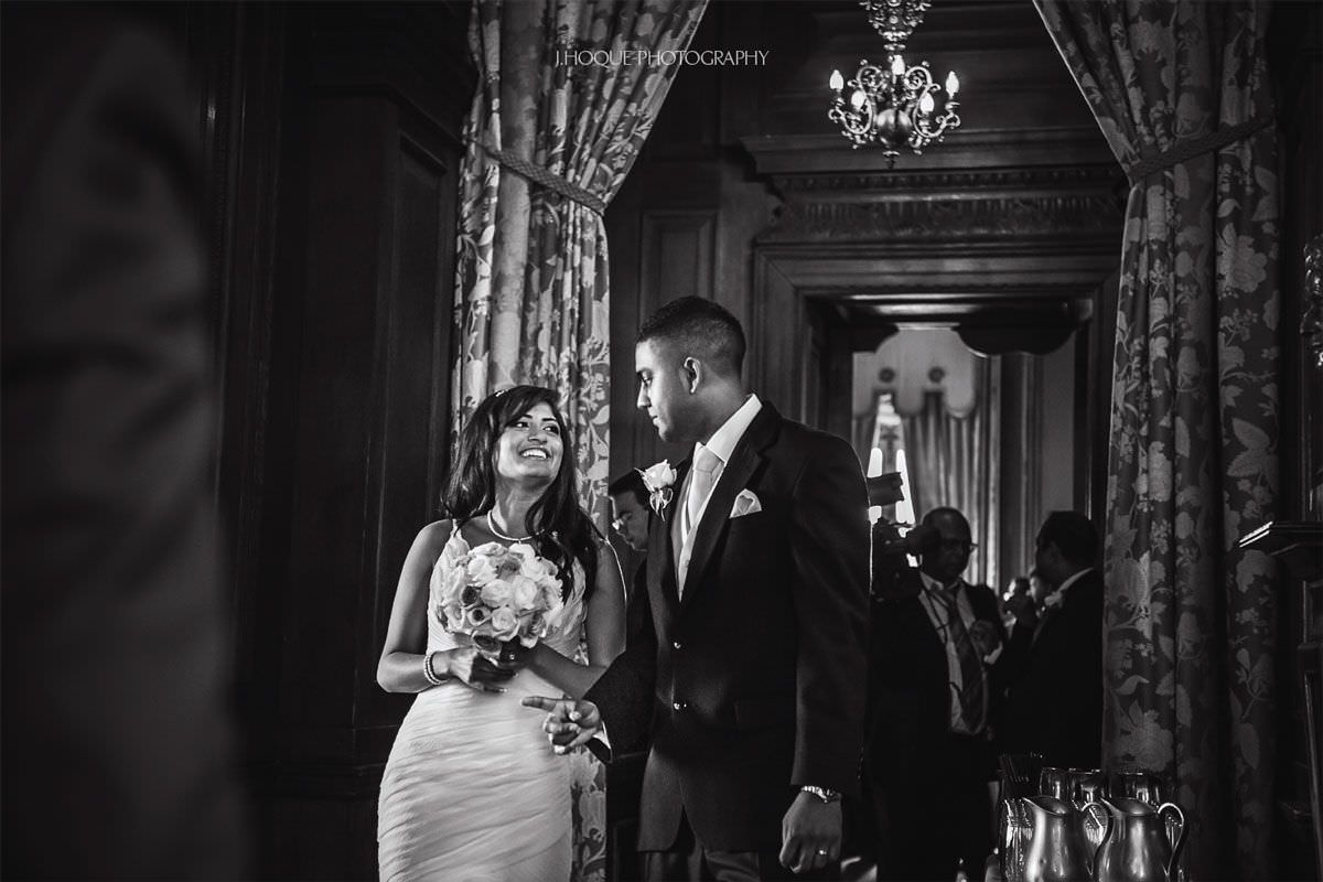 Luxury Asian Wedding Photography at Cliveden House Hotel | Berkshire Asian Wedding Photographer | BW-11