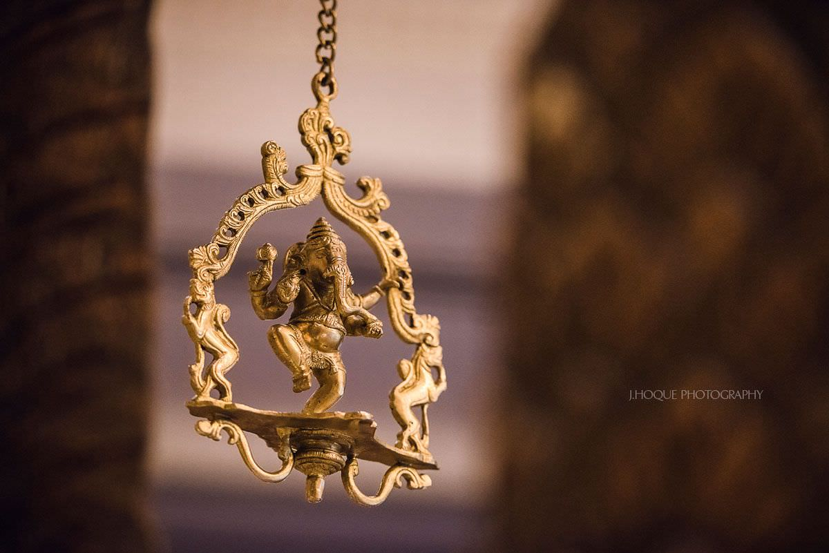 Lord Ganesha idol | Hindu Documentary Wedding Wedding Photographer Hertfordshire | 24