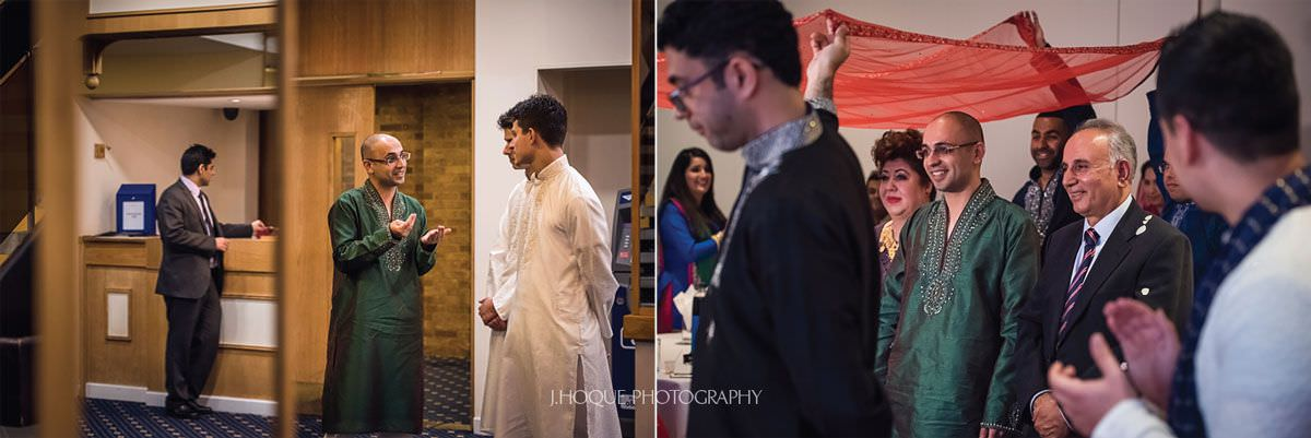 Groom arrives at mehndi ceremony | Afghan Pakistani Wedding in Luton | Wedding Photographer Bedfordshire | 08