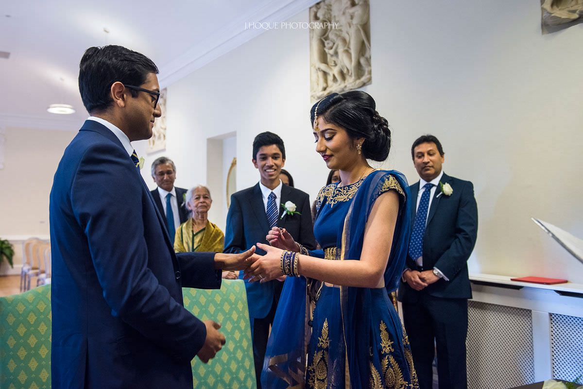 York House Registry, Twickenham | Tamil Wedding Photography London | VBSV-103