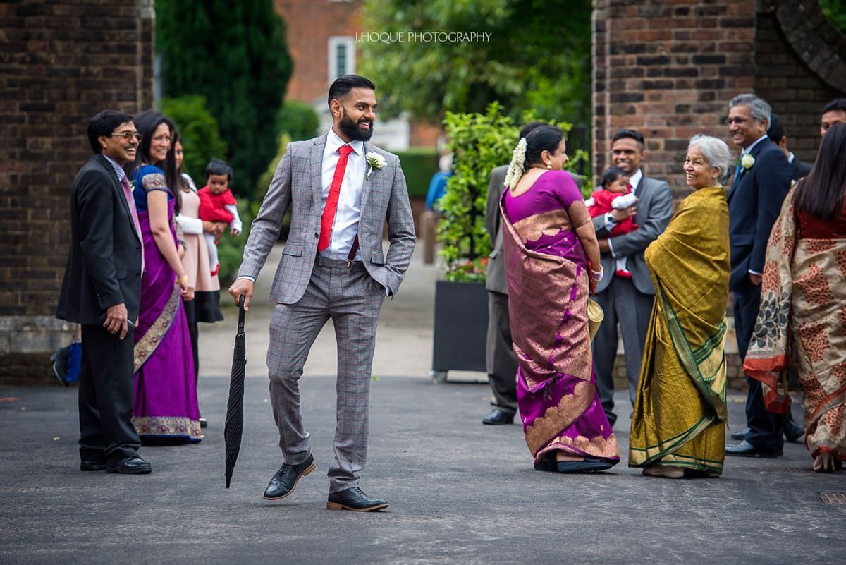 York House Civil Ceremony Twickenham | Tamil Bride & Groom | VBSV-333