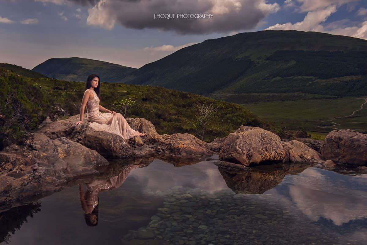 Fairy Pools Isle of Skye | Pre Wedding Shoot in Scotland | Luxury Asian Wedding Photography | 110