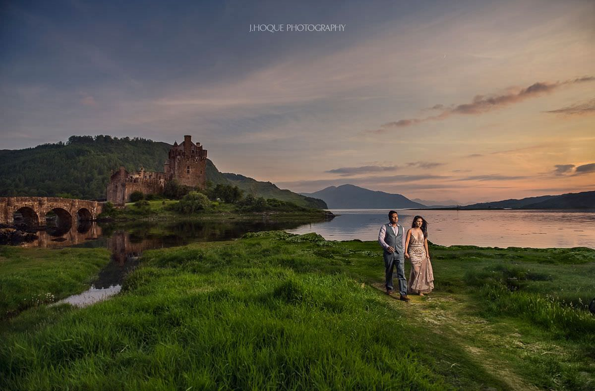 Eilean Donan Castle | Dornie Pre Wedding | Scotland Wedding Photography | 359