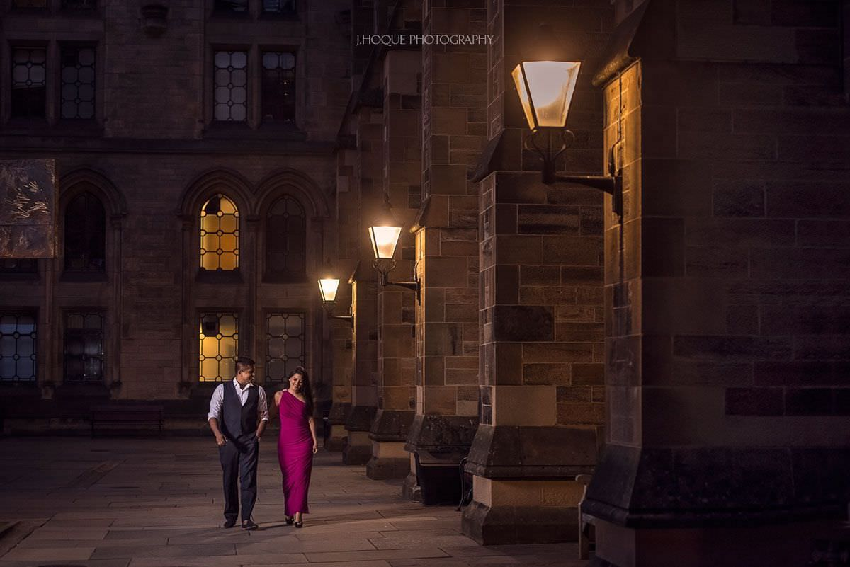 Pre Wedding Shoot in University of Glasgow | Scotland Fusion Wedding Photographer | 907