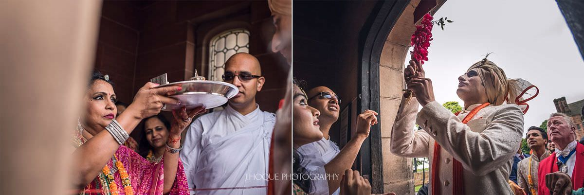 Grooms entrance | Indian Wedding Photography Cheshire | 19