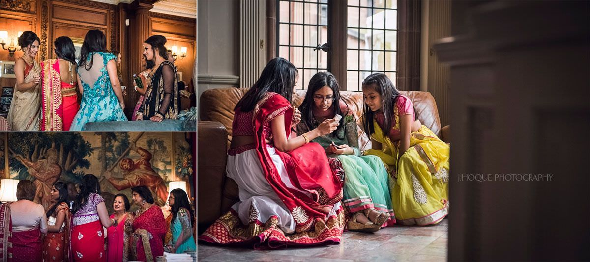 Luxury Asian Wedding Photography at Thornton Manor Cheshire | 22
