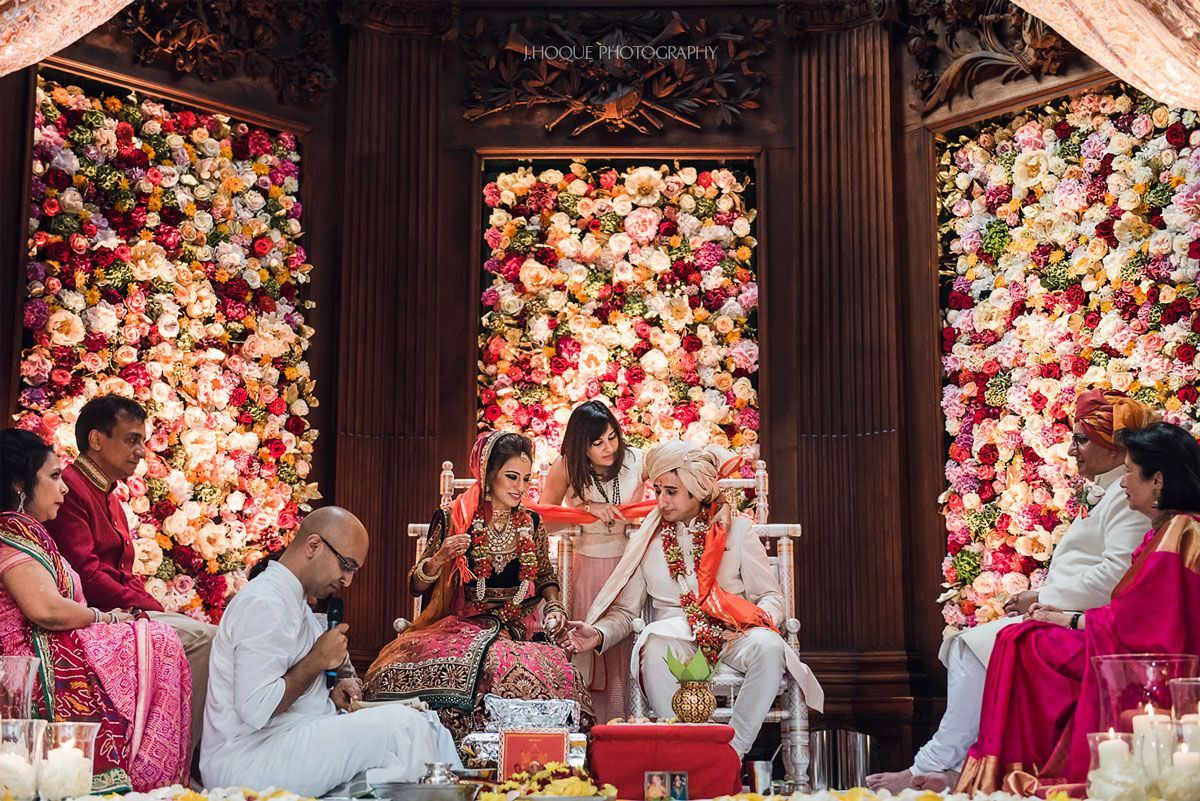 Hindu wedding ceremony at Thornton Manor Indian Wedding | 35