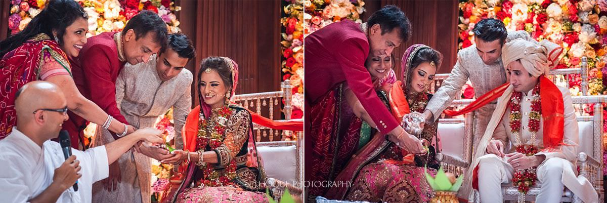 Hindu Wedding Rituals | Indian Wedding Photography at Thornton Manor | 36