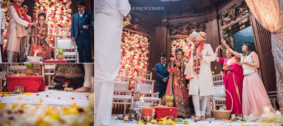 Mangal Fera | Hindu Wedding Ceremony | Thornton Manor Cheshire | 40