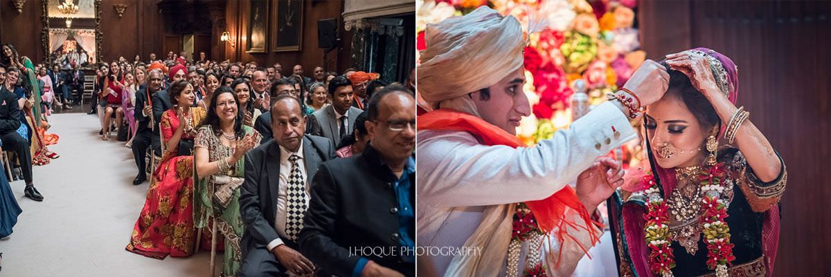 Sindoor ceremony | Hindu Wedding Photographer Thornton Manor | 42