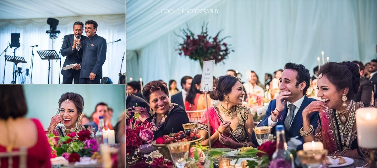 Father of the bride giving speech | Luxury Indian Wedding Photographer | 58