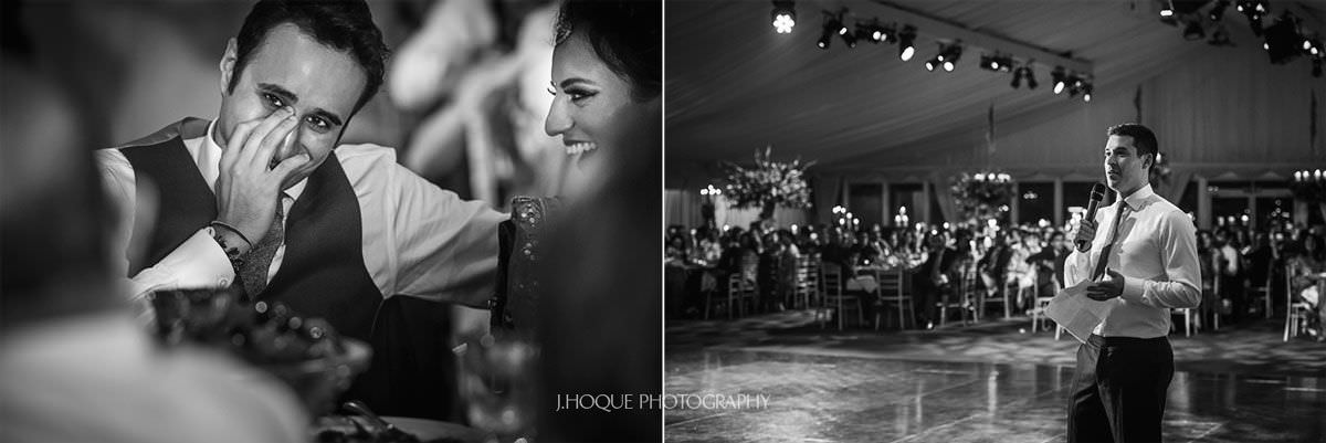 Groom Embarrassed | Luxury Indian Wedding Photographer at Thornton Manor | 61