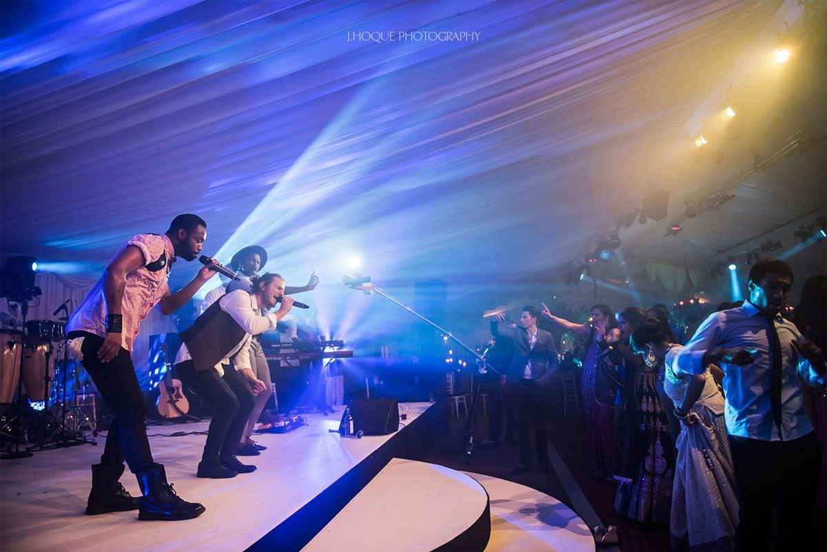 Salut Band perform at Luxury Indian Wedding in Cheshire | 71