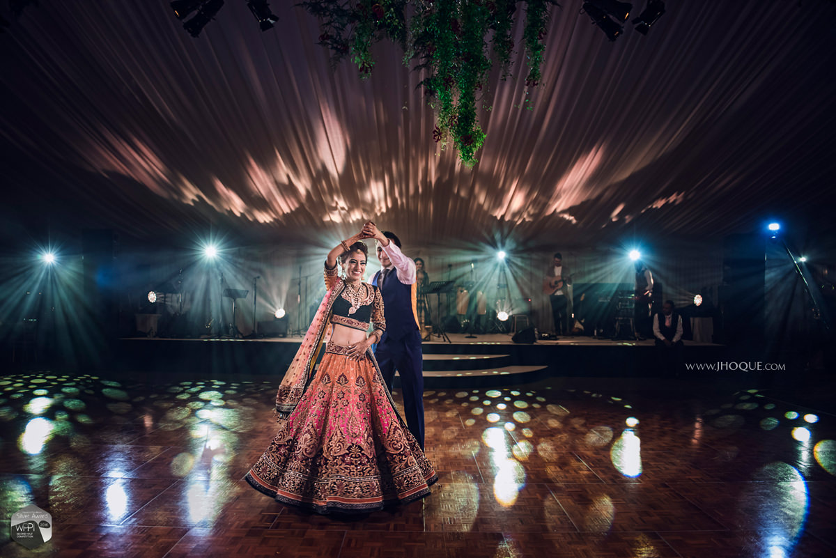 First Dance | WPPI Silver Award Winning Image | Luxury Asian Wedding at Thornton Manor Cheshire