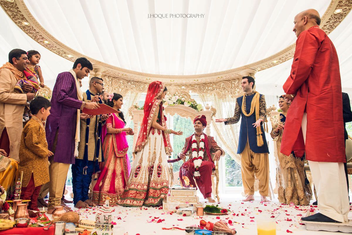 Who sits first? | Hindu Wedding Games | Indian Wedding at Boreham House Essex