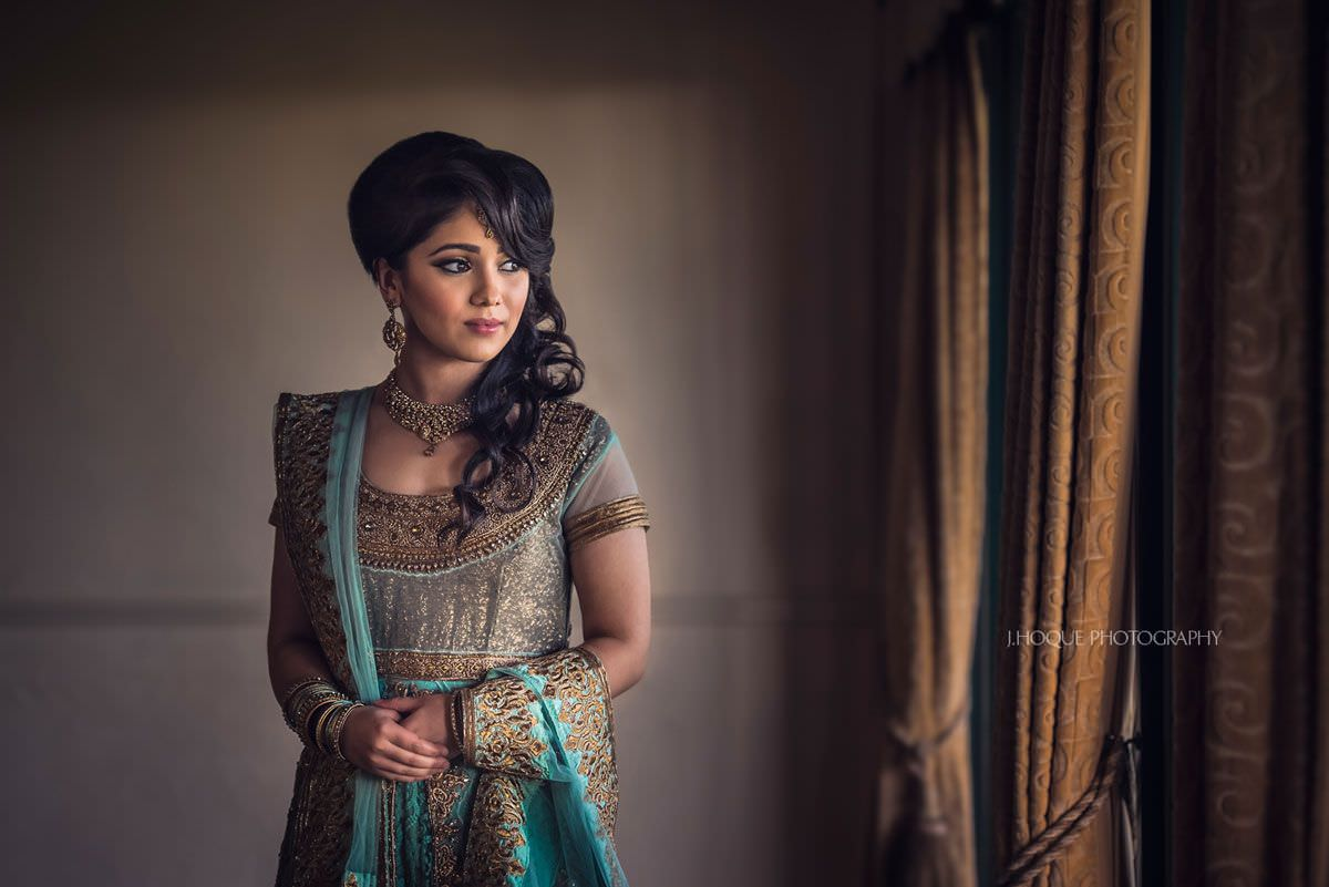 Portrait of Brides Sister | Three Rivers Muslim Wedding Photographer Essex