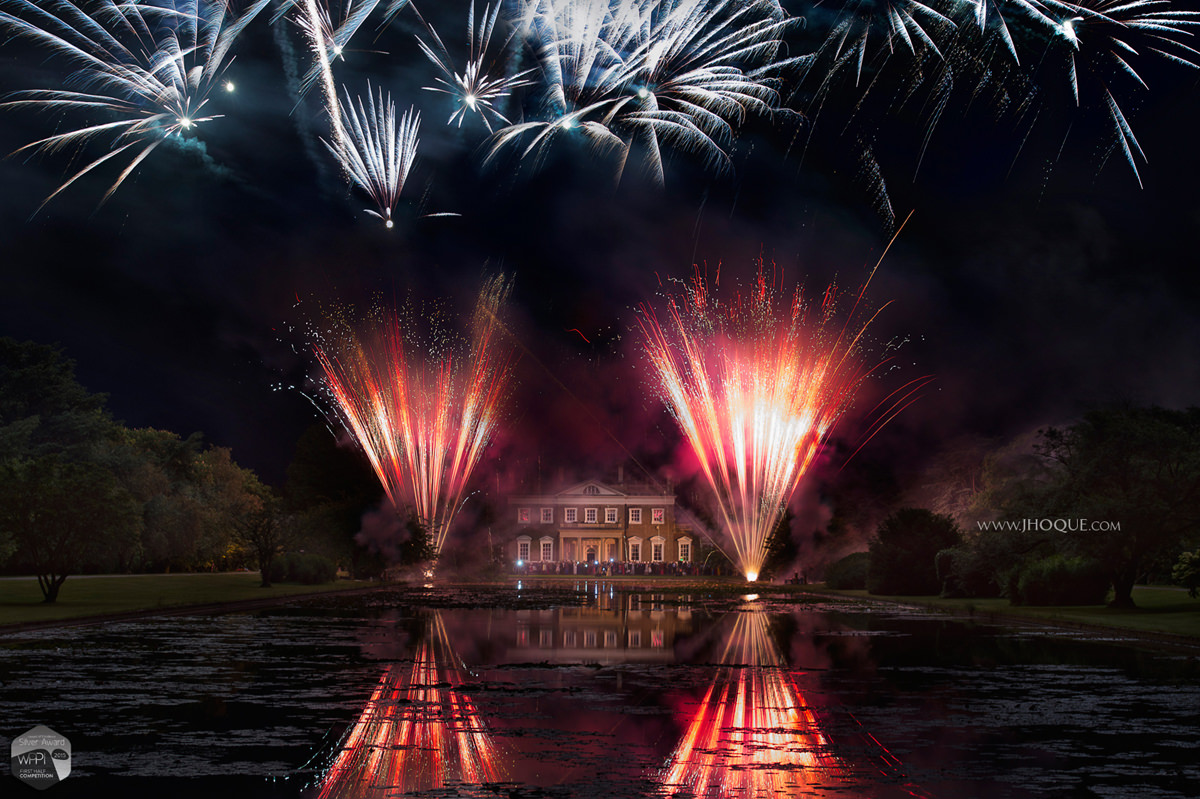 Wedding Fireworks at Boreham House | Asian wedding photographer Essex | WPPI Award 2015
