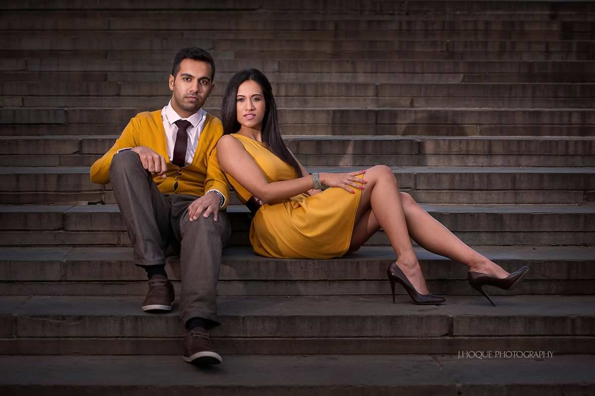 Trafalgar Square Pre Wed Shoot | Asian Wedding Photography London