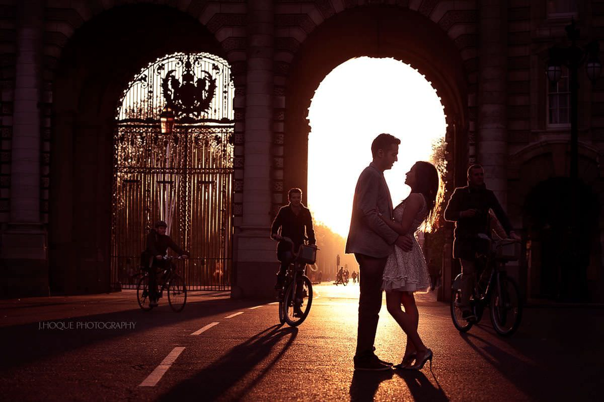 Sunset at Pall Mall | Asian Wedding Photography London