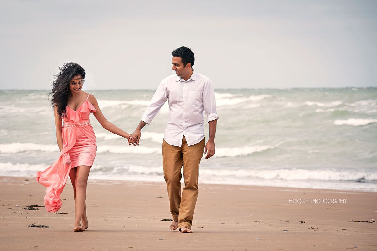 Botany Bay Pre Wed Shoot | Luxury Indian Wedding Photography London