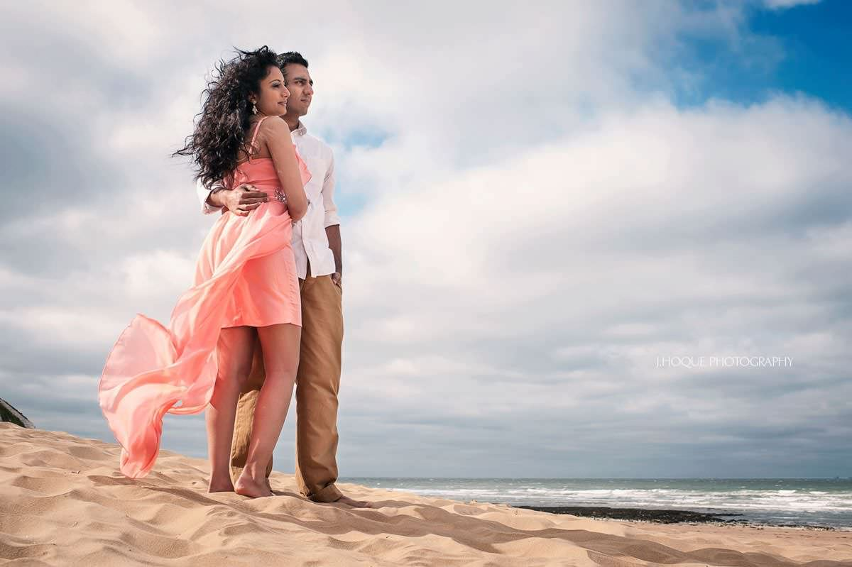 Botany Bay Pre Wedding Shoot | Luxury Indian Wedding Photography