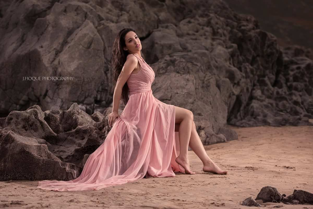 Beach Pre Wedding Shoot Wales | Profoto B1