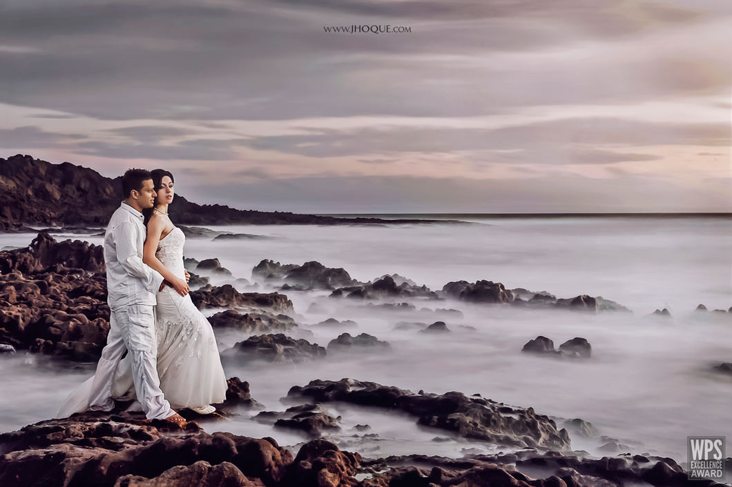 Seascape Portrait | Fusion Wedding Photography Wales