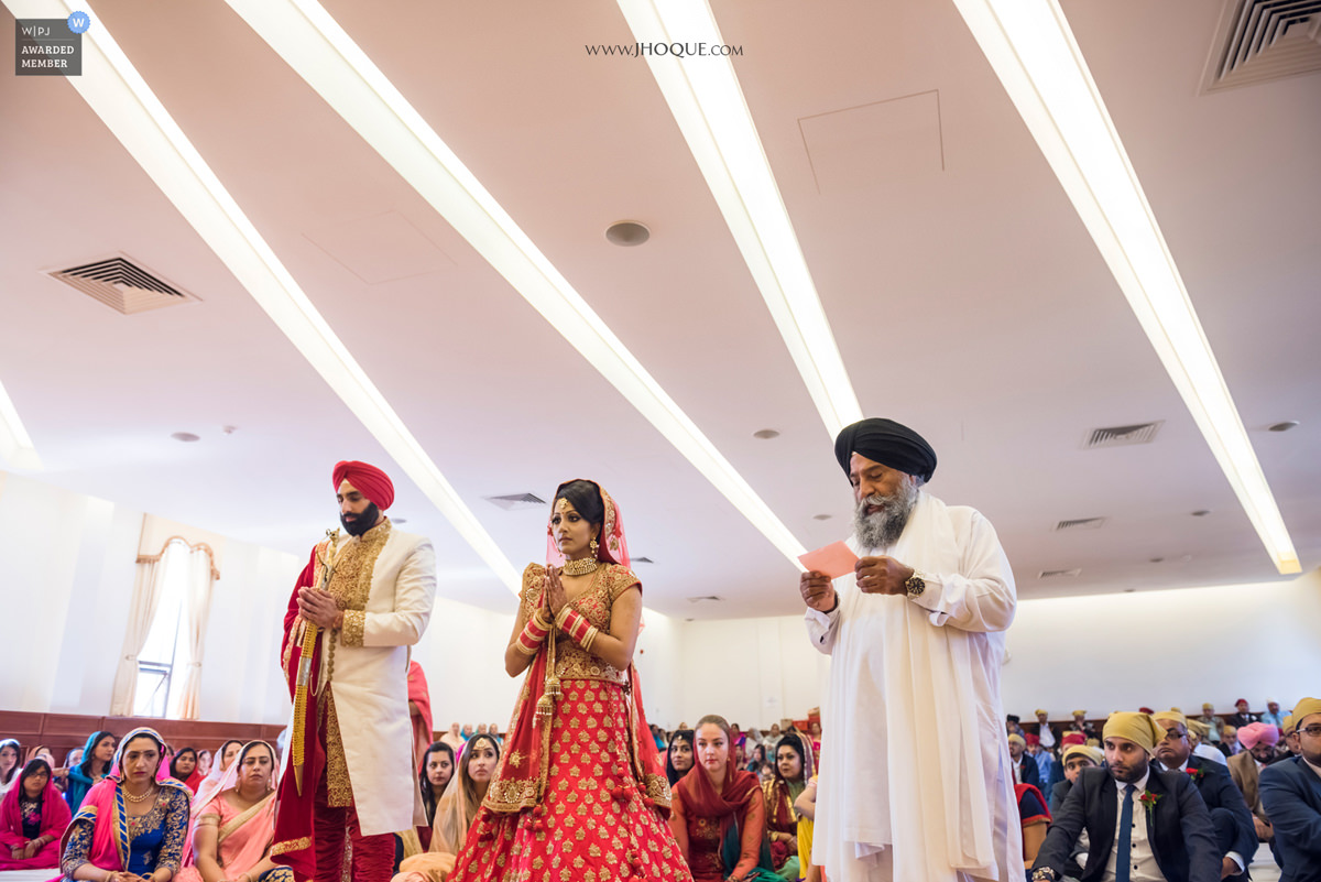 Sikh Wedding | WPJA Award 2017 - Shapes Patterns | Feral & Jasraj