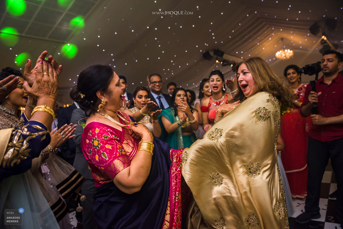 Mums dancing | Ditton Manor Indian Wedding | WPJA Award 2018 V17
