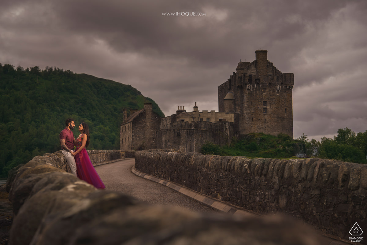 Scotland Pre Wedding | Eilean Donan Castle | WPJA Diamond Award 2018 v08