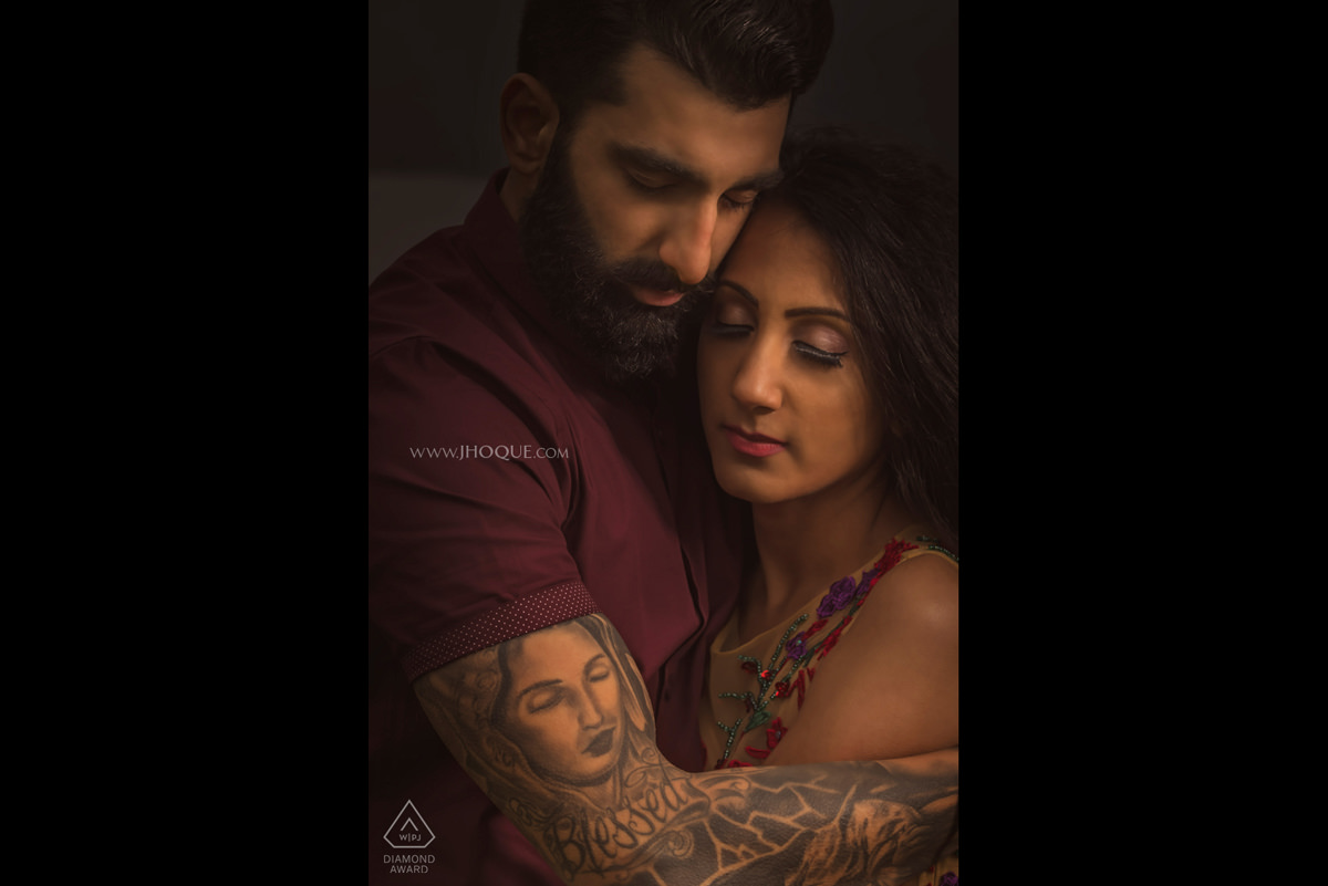 WPJA Diamond Award 2018 | Grooms Tattoo of mum | Scotland Pre Wed