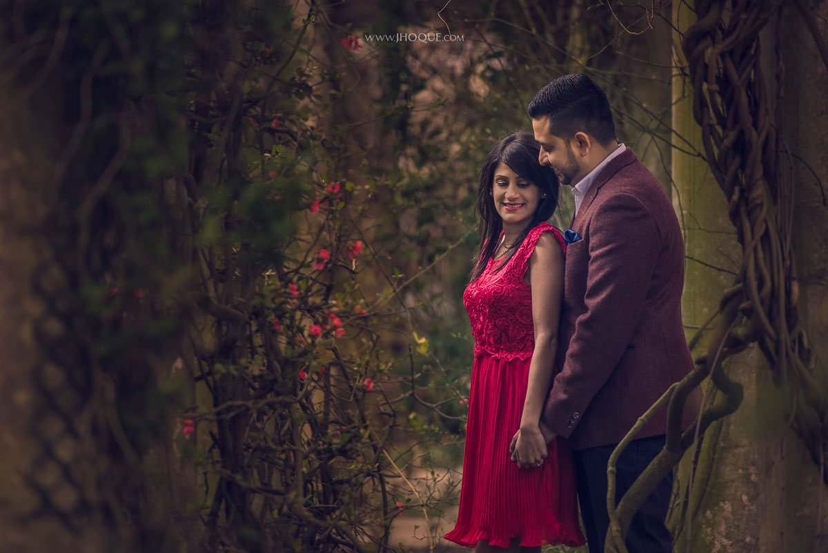 The Hill Garden and Pergola Pre Wedding | Puja & Punit