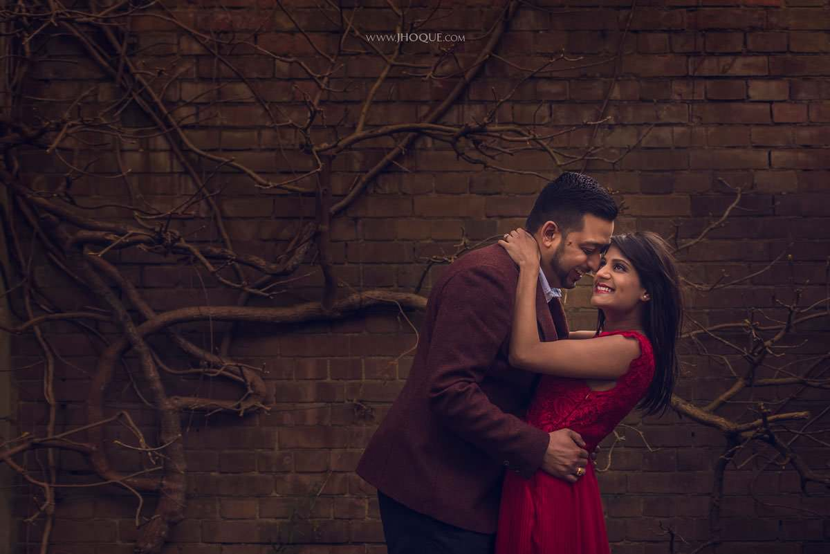 Pre Wedding Shoot at The Hill Garden and Pergola | Puja & Punit