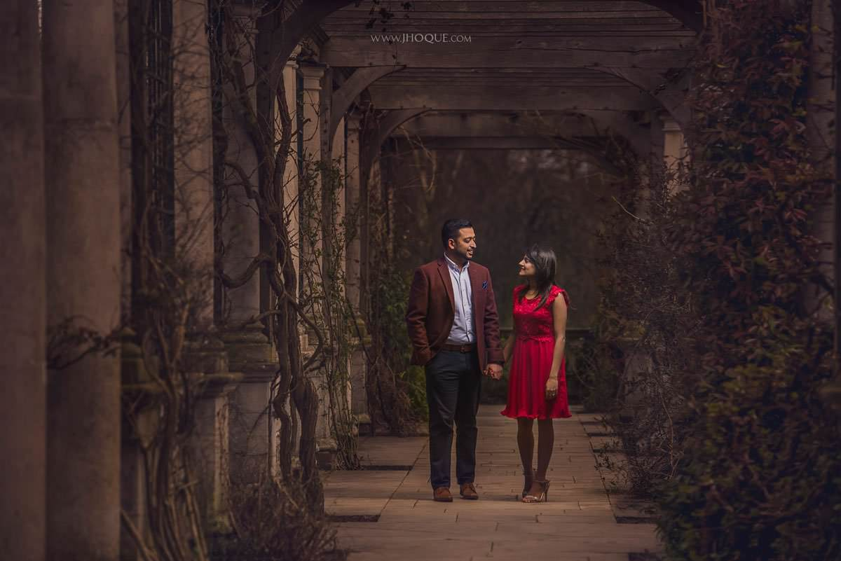 Asian Pre Wedding at The Hill Garden and Pergola | Puja & Punit